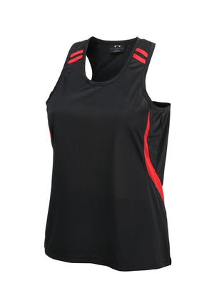 Biz Collection Ladies Flash Singlet 1st (10 colour) (LV3125)