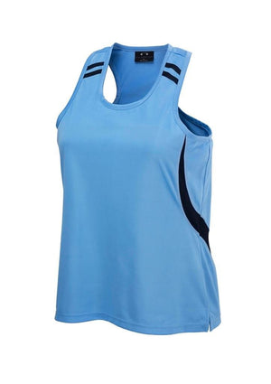 Biz Collection Ladies Flash Singlet 2nd (7 colour) (LV3125)
