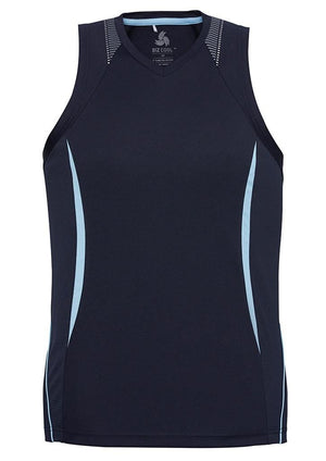 Biz Collection Mens Razor Singlet (SG407M)