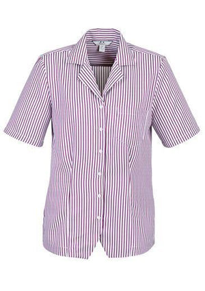 Biz Collection Ladies Oasis Stripe Ladies Overblouse (S266LS)