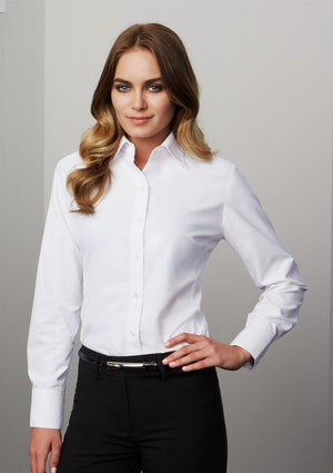 Biz Collection Ladies Ambassador Long Sleeve Shirt (S29520)