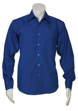 Biz Collection Mens Metro Long Sleeve Shirt (SH714)