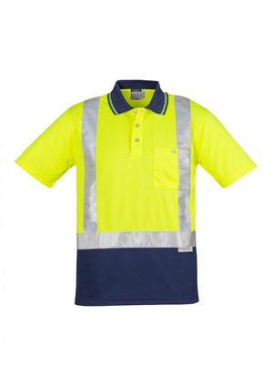 Syzmik ZH233 Day/night Two Tone Polo - Short Sleve Shoulder