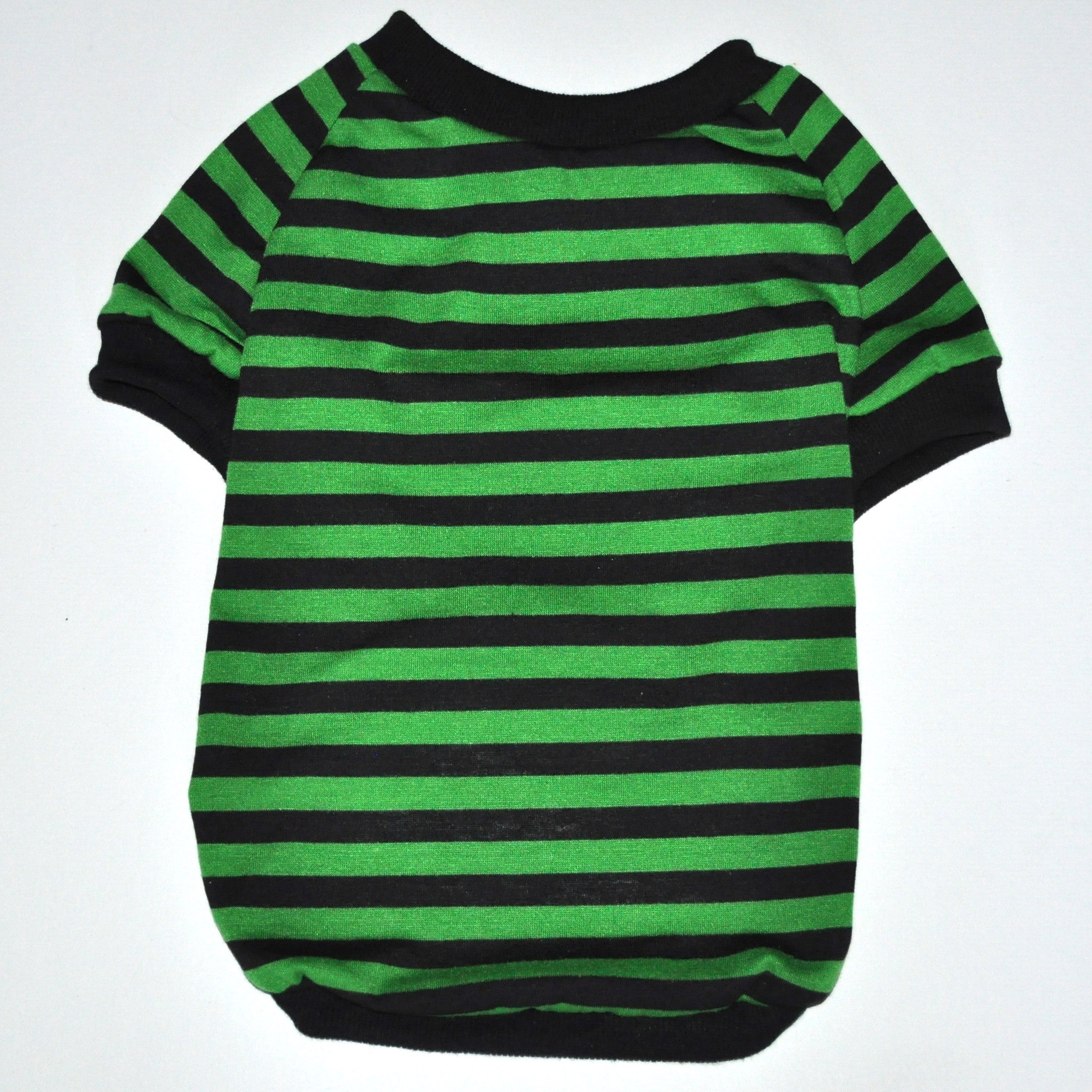 67c0b19595 Freddy Shirt Green/Black Stripes - Kane & Couture