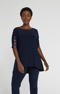 SYMPLI Jersey Capture Tunic SKU: 23169-4 NAVY