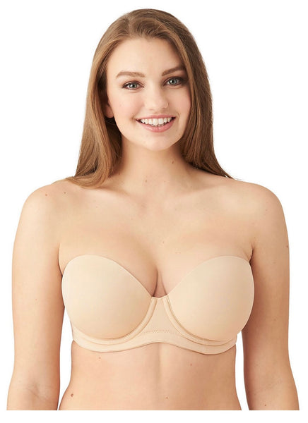 Wacoal Red Carpet Strapless Full Busted Underwire Bra 854119 black/nude