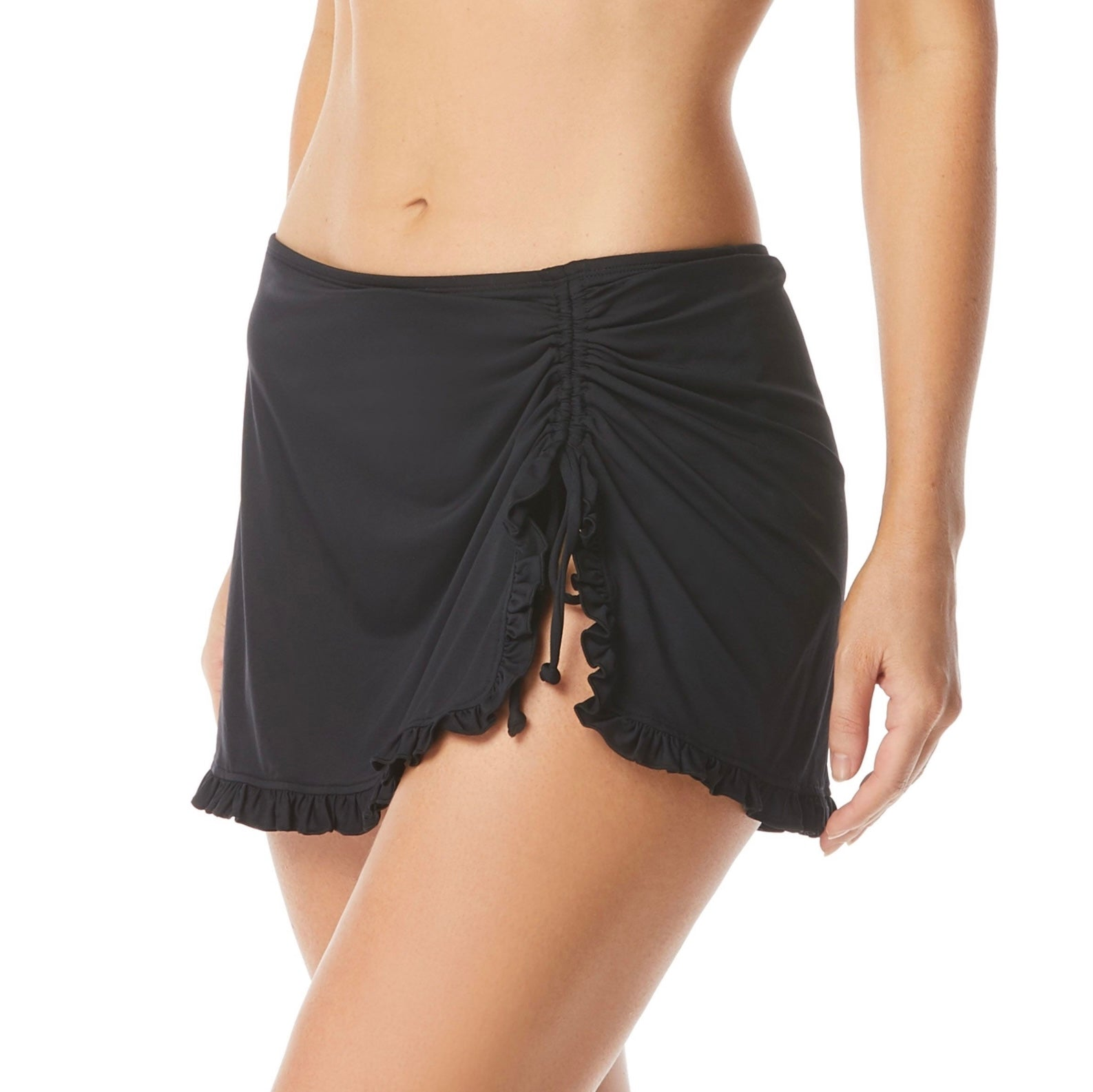 Beach House Tess Swim Skirt - Beach Solids SKU H58742 BLACK & NAVY