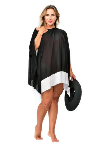 RAPZ COVER-UP 3024 (BLACK & NAVY )