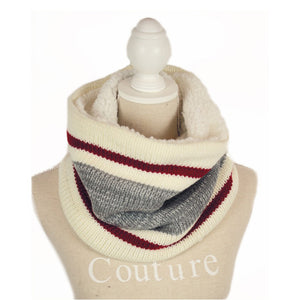 Simi INFINITY MIX GREY SCARF WITH LINING 08274