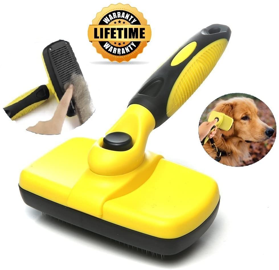 Self Cleaning Slicker Dog & Cat Brush
