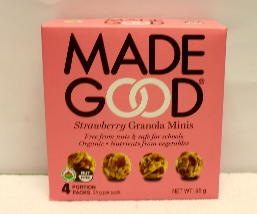 Made Good - Strawberry granola minis- 5 pack