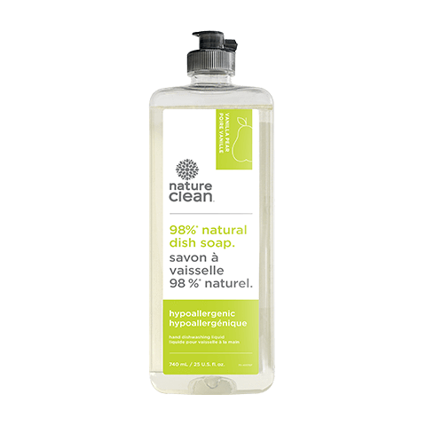 Nature Clean Dishsoap Vanilla Pear 740 Ml
