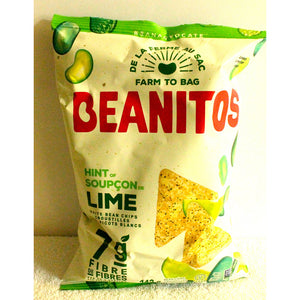 Bean Chips Hint of Lime