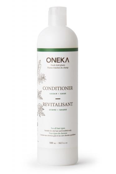 Oneka Conditioner with pump 1L Cedar and Sage