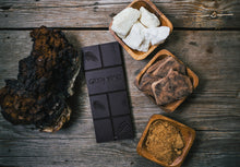 Load image into Gallery viewer, GIDDY YOYO CHAGA 79% DARK CHOCOLATE BAR