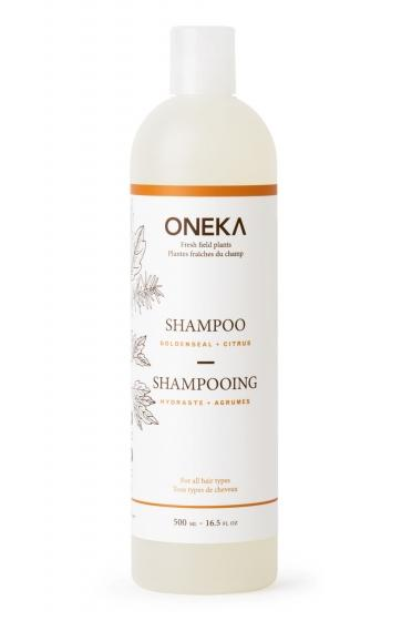 Oneka Shampoo with pump 1L Goldenseal & Citrus