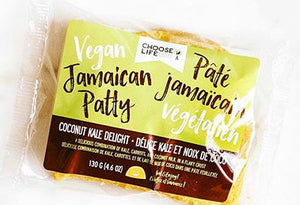 Vegan Jamaican patty coconut kale