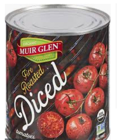 Fire Roasted Diced Tomatoes- 796 ml
