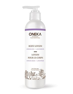 Oneka Body Lotion Angelica & Lavender