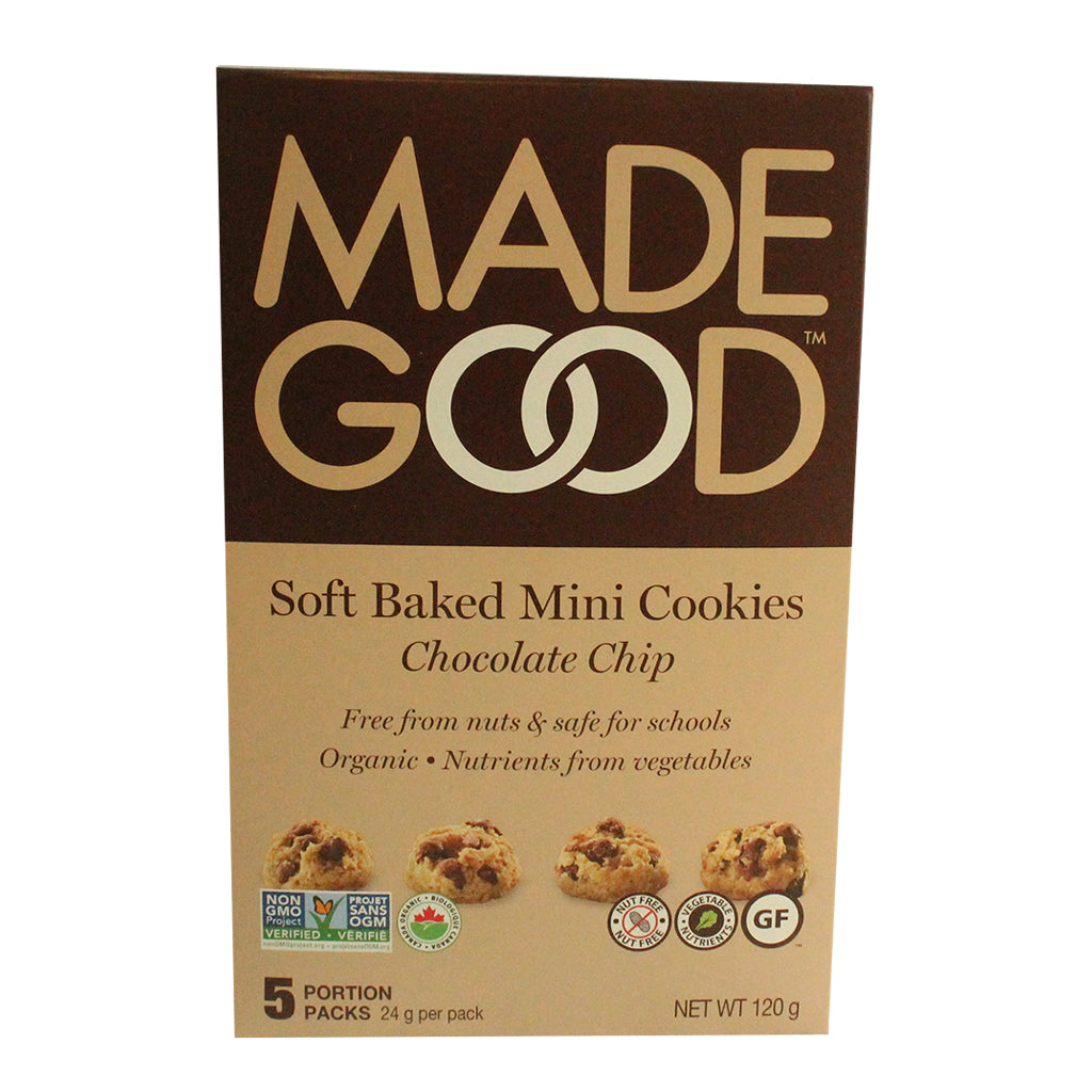 Made Good - Chocolate chip soft cookies- 5 pack