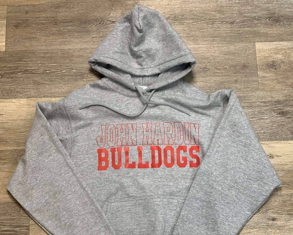 John Hardin Bulldogs Hooded Sweatshirt