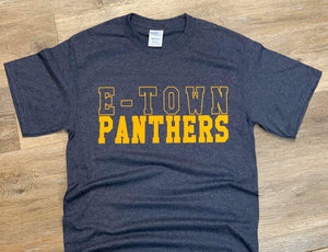 E-Town Panthers Tee