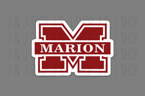 Marion County Knights Sticker