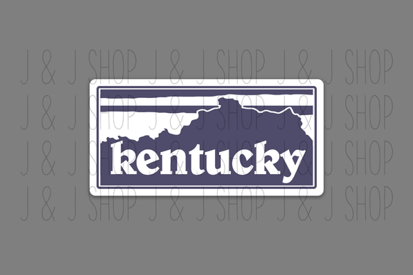 Kentucky-gonia Sticker