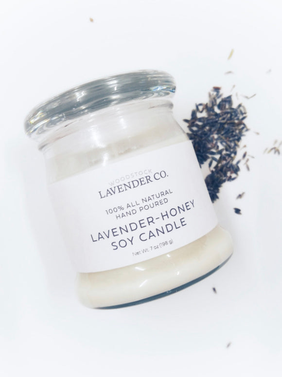 Woodstock Lavender and Honey Candle