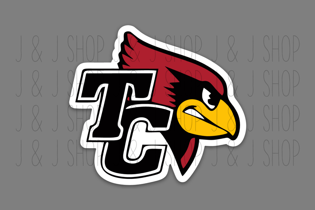 Taylor County Cardinals Sticker