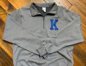 Kentucky K 1/4 Zip Pullover Sweatshirt