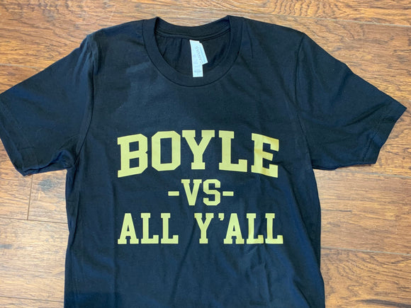 Boyle vs. All Y'all Tee