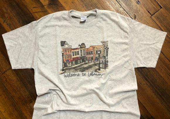Vintage Welcome To Lebanon Tee