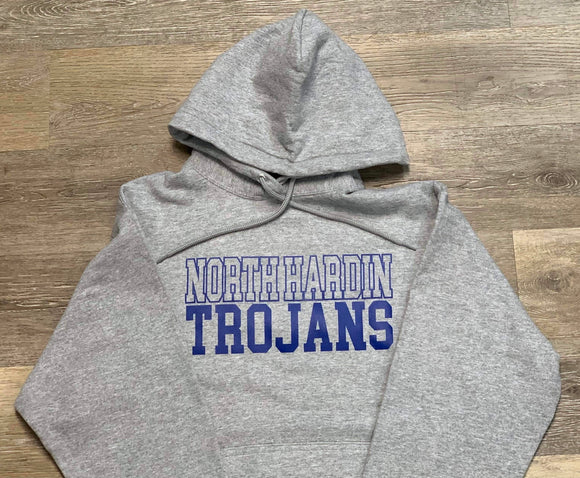 North Hardin Trojans Hooded Sweatshirt