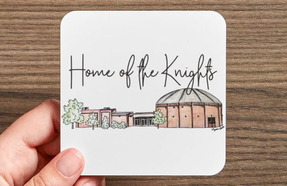 Home of the Knights Coaster Set