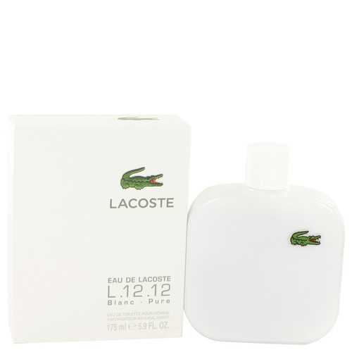 Lacoste Eau De Lacoste L.12.12 Blanc by Lacoste Eau De Toilette Spray 5.9 oz (Men)