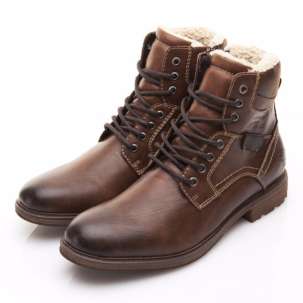 Zapto - Classic Leather Boots