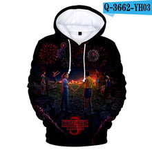 Load image into Gallery viewer, 2019 Hot Men's Hoodie Stranger Things Season 3 Sweatshirt TV series Stranger Things 3D Print Winter Warm Hoodies 4XL