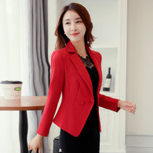 Load image into Gallery viewer, J58288 Summer Fashion OL Candy Color Wave Lady Blazers and Jackets