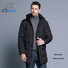 Load image into Gallery viewer, ICEbear 2019 Top Quality Warm Men's Warm Winter Jacket  Windproof  Casual Outerwear Thick Medium Long Coat Men Parka 16M899D