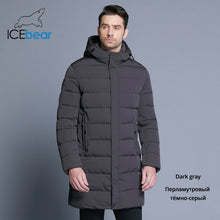 Load image into Gallery viewer, ICEbear 2019 Winter Jacket Men Hat Detachable Warm Coat Causal Parkas Cotton Padded Winter Jacket Men Clothing MWD18821D