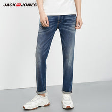 Load image into Gallery viewer, JackJones Men's Autumn Stretch Tapered-leg Cropped Jeans Fashion Pants Menswear 218332542 219232506