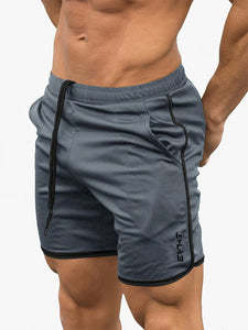 Man Sportswear Jogger Beach Short Pants Fitness Bodybuilding Shorts Men Casual Gyms Workout Male Breathable Mesh Quick Dry Short