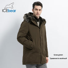 Load image into Gallery viewer, ICEbear 2019 New Winter Men's Jacket Hooded Man Jacket High Quality Man Clothing Fashion Brand Male Coat MWD19928D