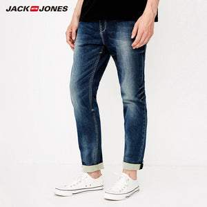 JackJones Autumn men's cotton Stretch jeans Denim Pants Menswear 218332585