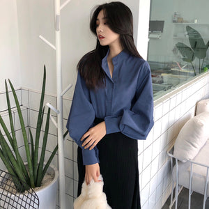 Cheap wholesale 2018 new summer  Hot selling women's fashion casual ladies work Shirts L385