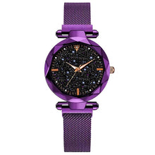 Load image into Gallery viewer, Luxury Women Watches 2019 Ladies Watch Starry Sky Magnetic Waterproof Female Wristwatch Luminous relogio feminino reloj mujer