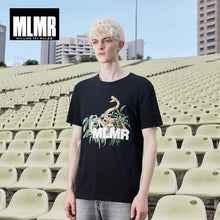 Load image into Gallery viewer, MLMR Men's 100% Cotton Contrasting Print Short-sleeved T-shirt 219101540