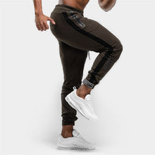 Load image into Gallery viewer, Casual Sporty Pants Joggers Sweatpants Mens Gyms Fitness Workout Sportswear Trousers Autumn Male Cotton Trackpants Pencil pants