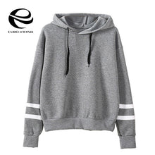 Load image into Gallery viewer, 2019 Autumn Winter Women Hoodie Casual Long Sleeve Hooded Pullover Sweatshirts Hooded Female Jumper Women Tracksuits Sportswear
